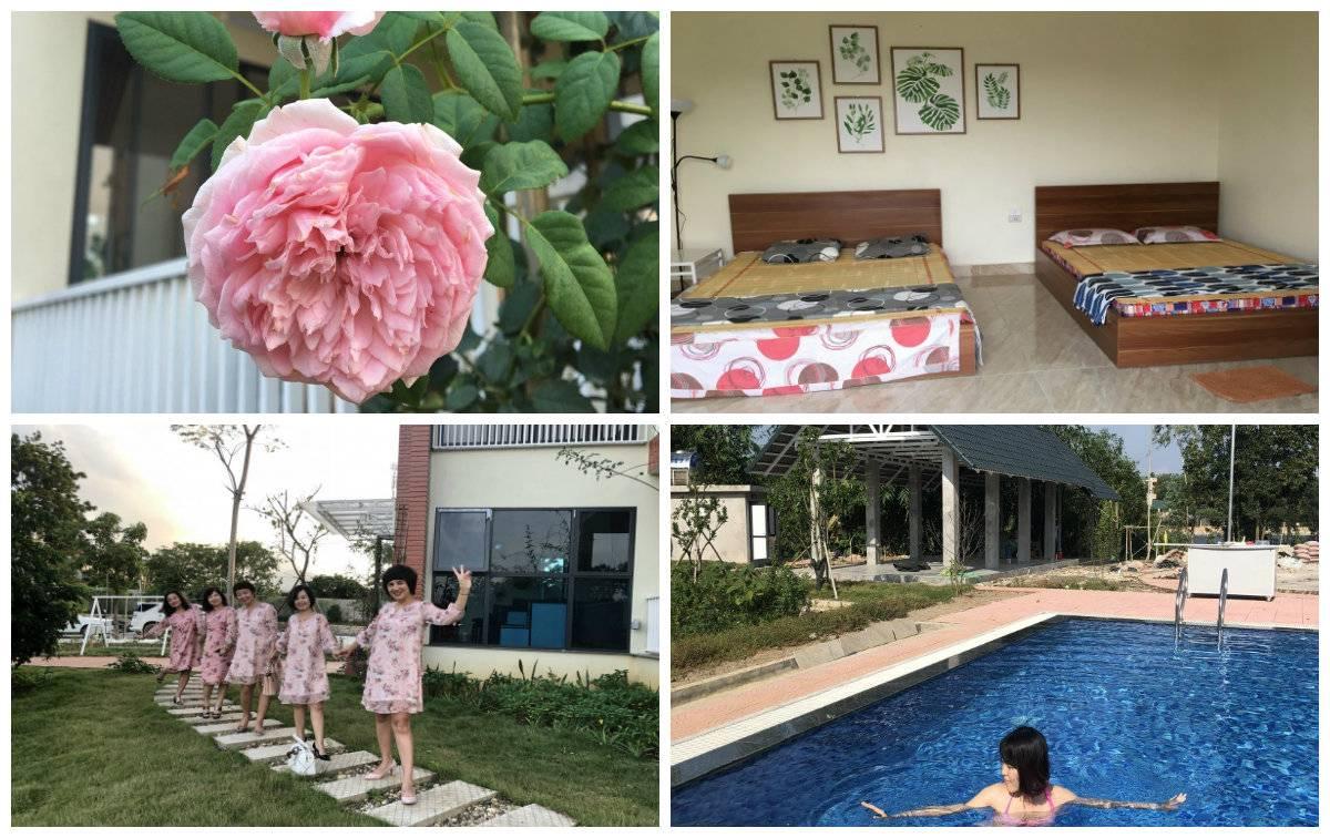 Top 50 Villa homestay Ba Vì giá rẻ ngoại thành Hà Nội đẹp mê ly, có hồ bơi