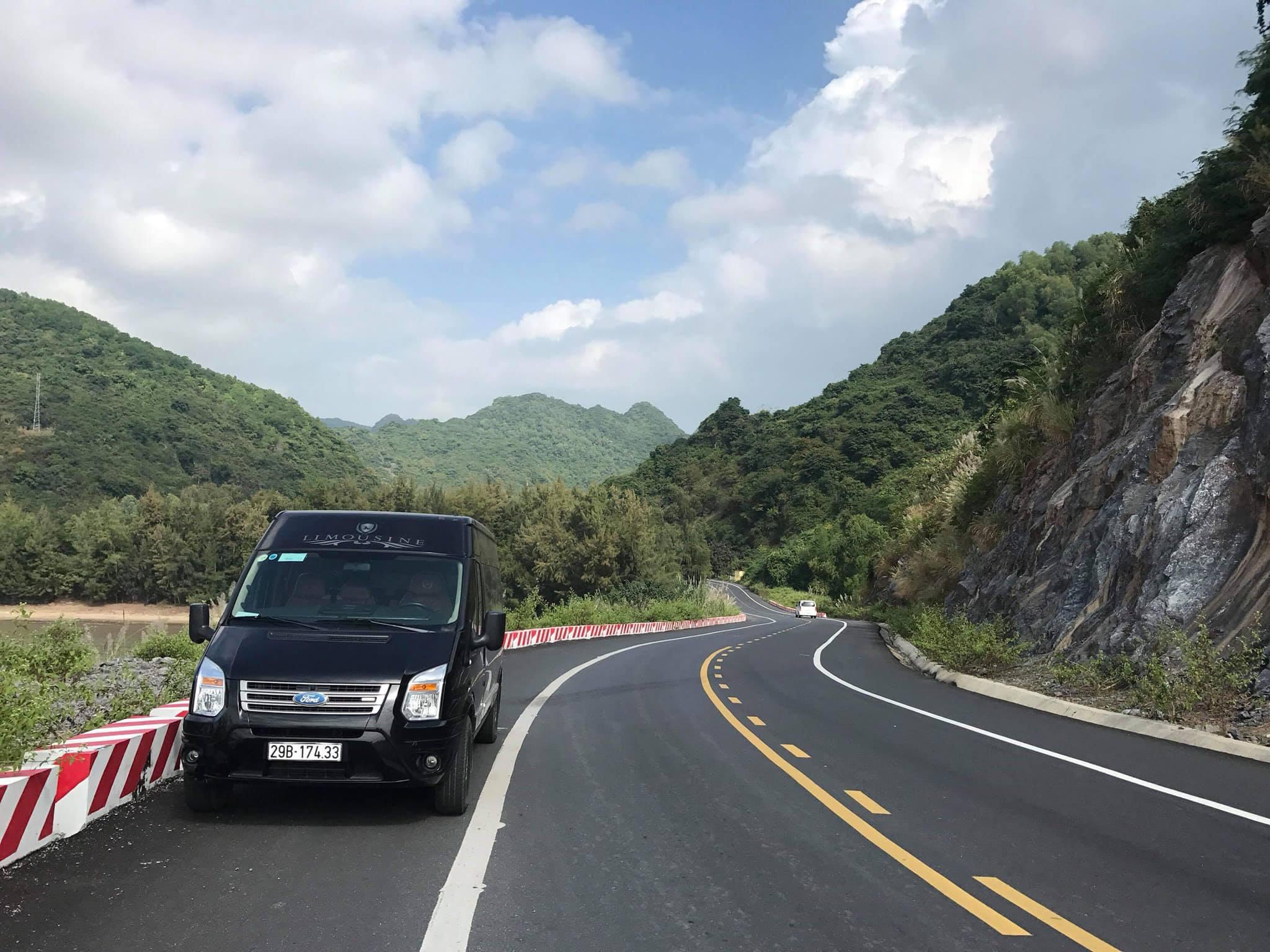 Xe limousine Hà Nội Thái Bình đón tận nhà