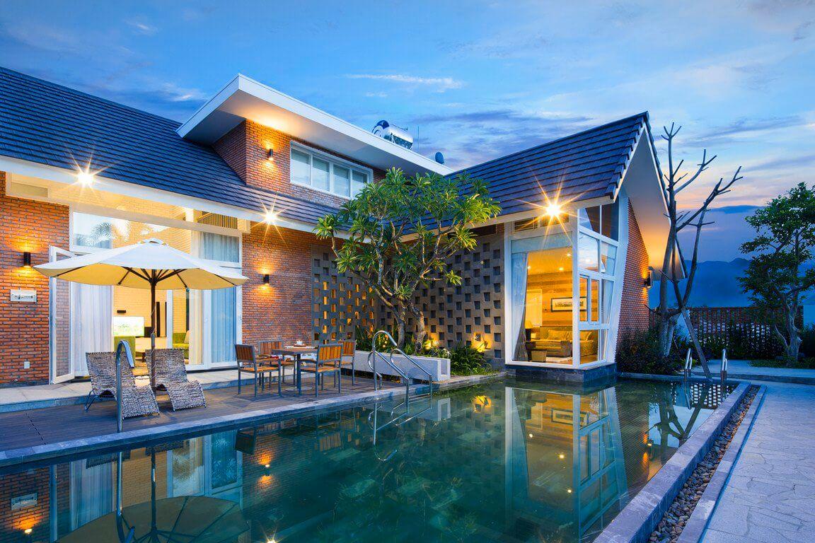 99 Villa Nha Trang giá rẻ gần biển đẹp cho thuê nguyên căn có hồ bơi