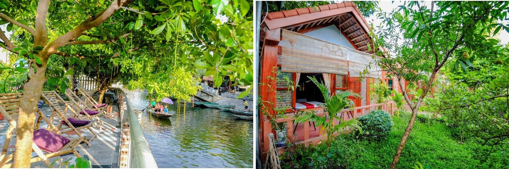 """99 Homestay Ninh Bình giá rẻ đẹp có hồ bơi view """"TỰA NÚI SÔNG"""" 100k"""
