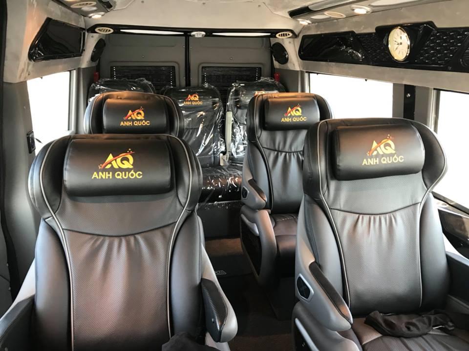 Giới thiệu nhà xe Anh Quốc limousine