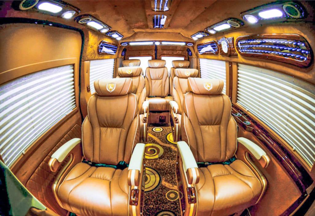 Giới thiệu nhà xe Cô Tô limousine