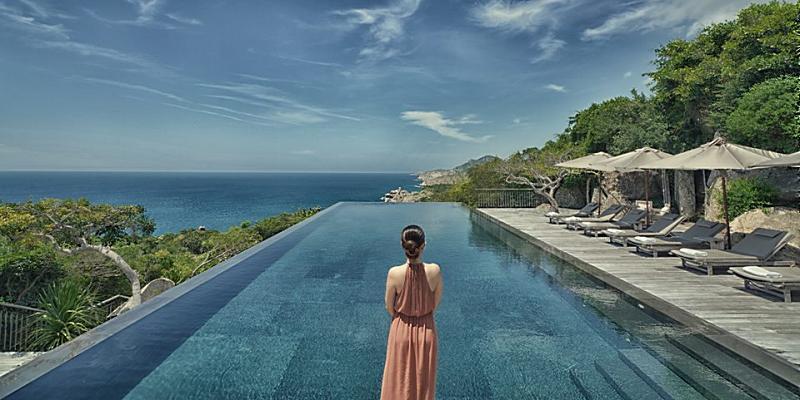 Những resort Vĩnh Hy view biển đẹp, tha hồ ngắm cảnh vịnh, núi chúa