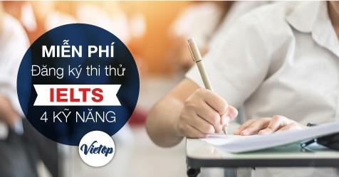 Đăng ký thi thử IELTS miễn phí như thi thật tại TPHCM