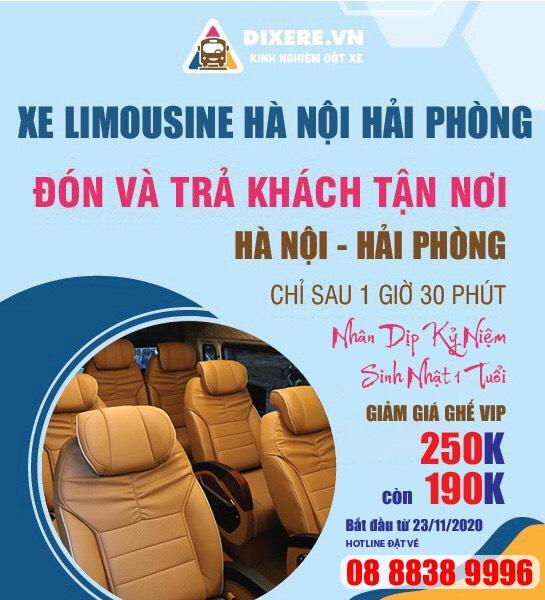 Top 17 Nhà xe limousine Hà Nội Nam Định giường nằm chất lượng cao