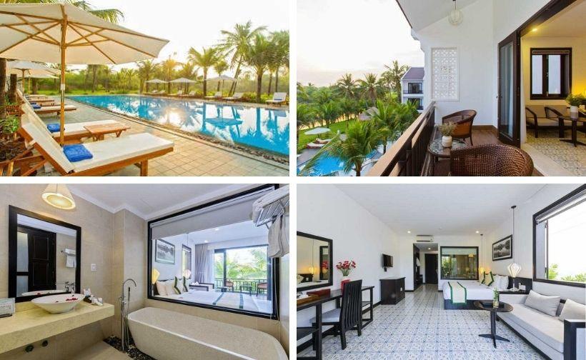 60 Biệt thự villa Hội An giá rẻ gần biển đẹp có hồ bơi nguyên căn