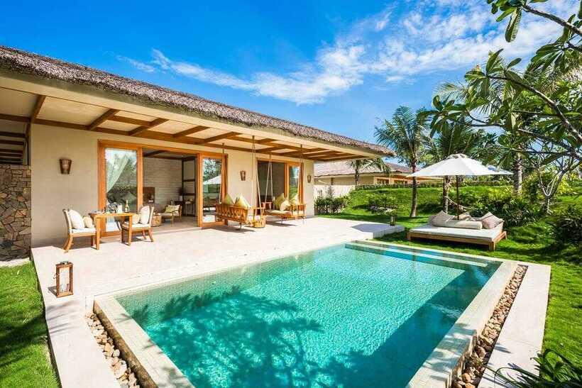 42 Biệt thự villa Phú Quốc giá rẻ gần biển đẹp có hồ bơi nguyên căn