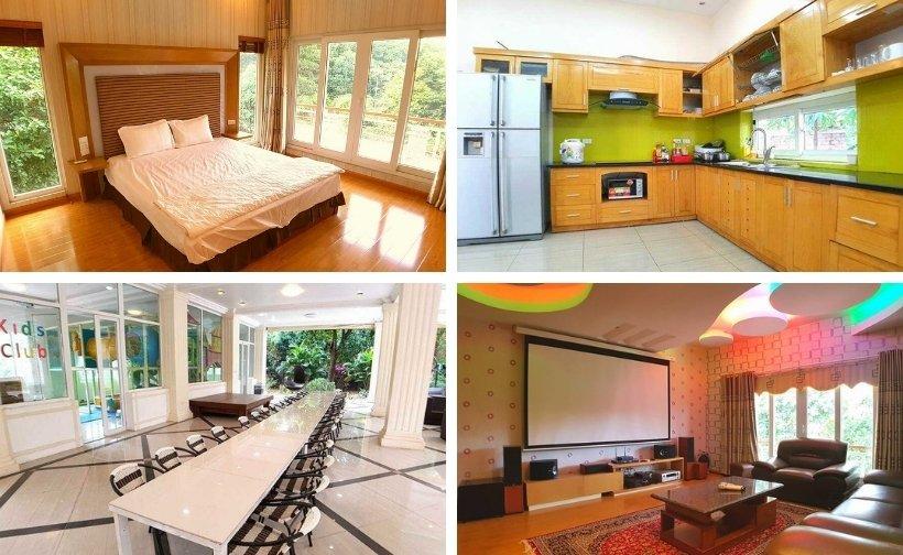 61 Biệt thự villa homestay Ba Vì giá rẻ đẹp có hồ bơi cho thuê nguyên căn