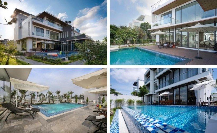 Top 10 Biệt thự villa Tuần Châu giá rẻ view biển đẹp có hồ bơi nguyên căn